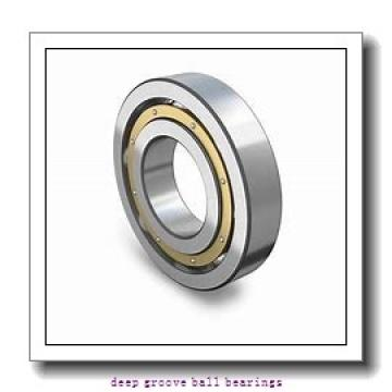 4 mm x 12 mm x 4 mm  skf W 604-2RZ Deep groove ball bearings