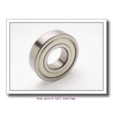 9.525 mm x 22.225 mm x 5.558 mm  skf D/W R6 Deep groove ball bearings