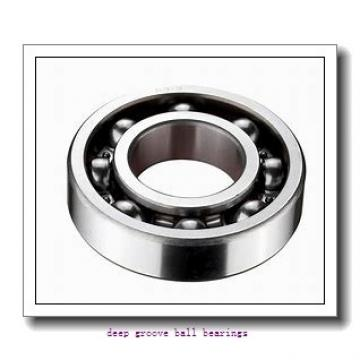4 mm x 9 mm x 4 mm  skf W 638/4-2Z Deep groove ball bearings