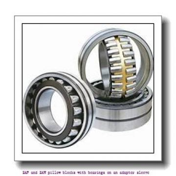 1.688 Inch | 42.875 Millimeter x 4.625 Inch | 117.475 Millimeter x 3 Inch | 76.2 Millimeter  skf SAF 1610 SAF and SAW pillow blocks with bearings on an adapter sleeve