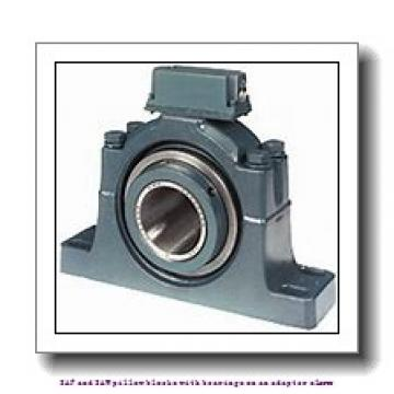 skf SAF 1517 x 2.13/16 T SAF and SAW pillow blocks with bearings on an adapter sleeve