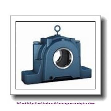 skf SAFS 22515 x 2.1/2 TLC SAF and SAW pillow blocks with bearings on an adapter sleeve
