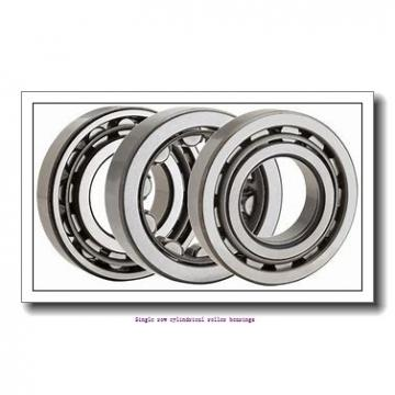 100 mm x 180 mm x 46 mm  NTN NU2220EG1C3 Single row cylindrical roller bearings