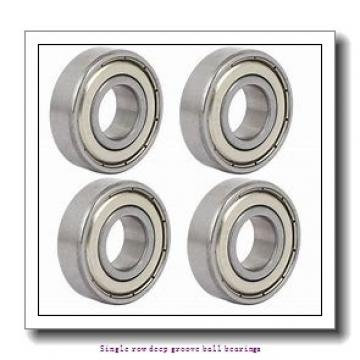 100 mm x 150 mm x 24 mm  NTN 6020CM Single row deep groove ball bearings