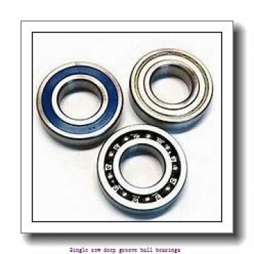 90 mm x 140 mm x 24 mm  NTN 6018LLU/2AS Single row deep groove ball bearings