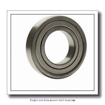80 mm x 125 mm x 22 mm  NTN 6016ZZC3/2AS Single row deep groove ball bearings