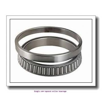 38.1 mm x 65.088 mm x 18.288 mm  skf LM 29748/710 Single row tapered roller bearings
